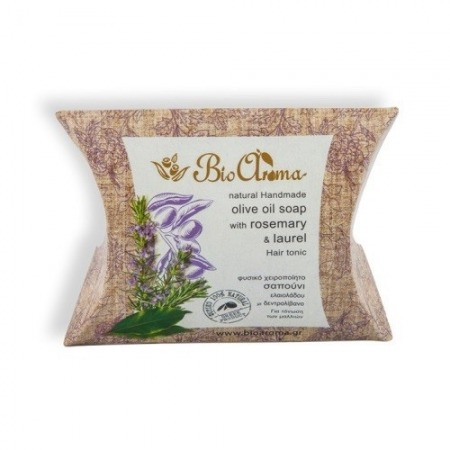 BioAroma Handmade Olive Oil Soap for hair loss 100% natural