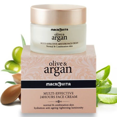 MACROVITA ARGAN & OLIVE MULTI-EFFECTIVE 24HOURS FACE CREAM normal - combination skin 50ml